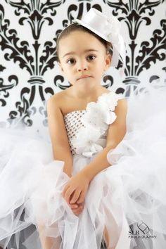 Flower Girl Tutu Dress Couture