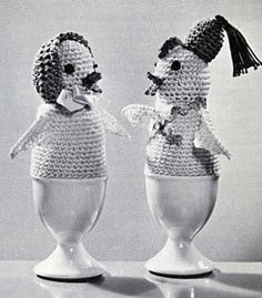 Ravelry: Cock-a-Doodle Egg Warmers pattern by Coats & Clark
