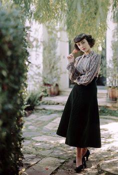 """vintagegal: """" Elizabeth Taylor photographed by Luis Lemus for Vogue 1948 """""""