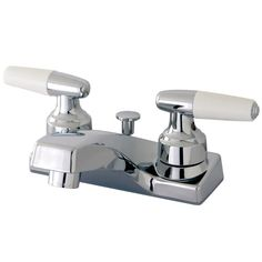 Found it at Wayfair - Americana Double Handle Centerset Bathroom Sink Faucet with Pop-Up Drain
