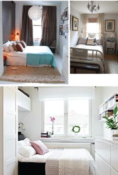I really like the white floor for tatums room with the big fluffy rug! Pretty Pretty Bang Bang: Inspiration: Decorating Small Bedrooms