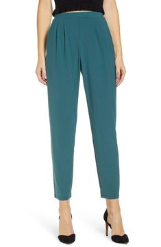 Women's Leith Pleat Front Trousers, Size X-Large - Blue/green Pleated Pants, American Women, Blue Denim, Going Out, Trousers, Women's Pants, Pants For Women, Teal, Pajama Pants