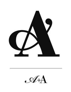 A is for amazing type treatment