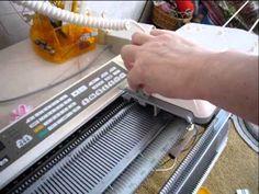 Робот каретка Раздельное вязание - YouTube