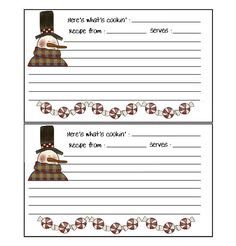 570 best printable recipe cards images free printables free printable printable recipe cards
