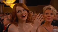 Emma Stone's reaction to Tina Fey and Amy Poehler's Big Eyes joke - Telegraph