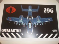 G.I. Joe Rattler poster print by EscapeCapsule on Etsy, $6.99