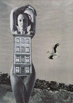 #ART | artist i like | Karel Teige   (Collage #366, 1949)