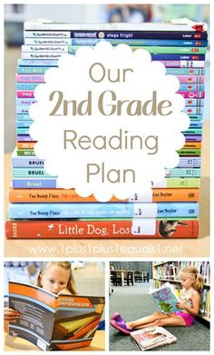 2nd Grade Book List and Reading Plan