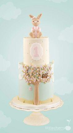 Nursery room themed cake