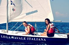Claudia e Alice. #vacanze #corsi #estate #vela
