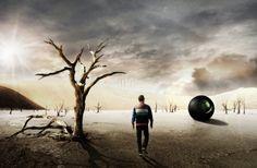 The Desert by Alexander Fink, via Behance  visit http://afinkdesign.de/