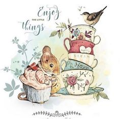 Cute Images, Cute Pictures, Beatrice Potter, Peter Rabbit And Friends, Cute Cartoon Drawings, Paint Cards, Art Party, Illustrations, Print Artist
