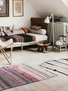 modern eclectic room
