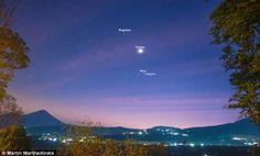 بالصور.. سكان الأرض يشاهدون 3 كواكب خلال دورانها حول الشمس - http://www.watny1.com/367707.html