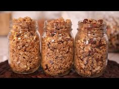 No-Bake Granola Bars (Back to School Recipe) Gemma's Bigger Bolder Baking Ep 139 - YouTube