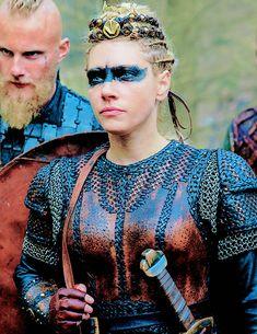 Vikings Ragnar, Ragnar Lothbrok, Lagertha, Vikings Tv Series, Shield Maiden, History Channel