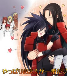 Hashirama X Madara ~ XD God too adorable
