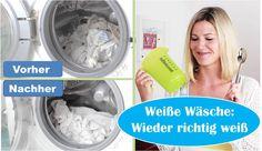 Weiße Wäsche: Wieder richtig weiß?! | Hausmittel | Ohne Chemie | Grausch...