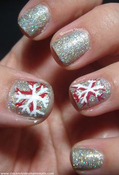Sincerely Stephanie: Christmas Nails Galore!