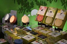 Handmade soaps from Aamumaa