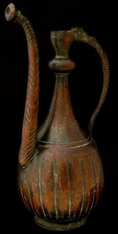 Mughal Copper Ewer Deccan, India 16th-17th century