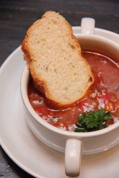 Beef goulash soup