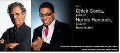 Jazz. Chick Corea & Herbie Hancock. March 19, 2015.
