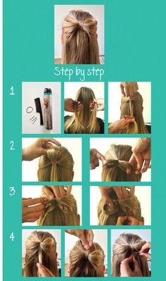 DIY hair bow Lady Gaga  http://sissecrets.files.wordpress.com/2012/10/step-by-step-hair-bow.png