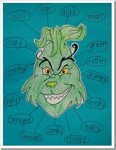 adjectives with the Grinch