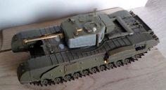 Von Vikken - modellismo statico: Churchill Mk. IV - Assembling #VonVikkenModellismo