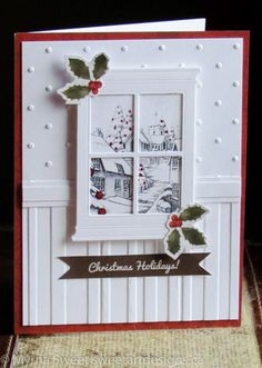 madison window - Homemade Cards, Rubber Stamp Art, & Paper Crafts - Splitcoaststampers.com