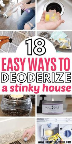 Trying to get the stink out of your house? Here are 18 genius affordable ways to. - Trying to get the stink out of your house? Here are 18 genius affordable ways to make your house smell amazing with very little effort. Safe Cleaning Products, Household Cleaning Tips, Deep Cleaning Tips, Cleaning Recipes, House Cleaning Tips, Spring Cleaning, Cleaning Hacks, Household Cleaners, Natural Cleaning Solutions