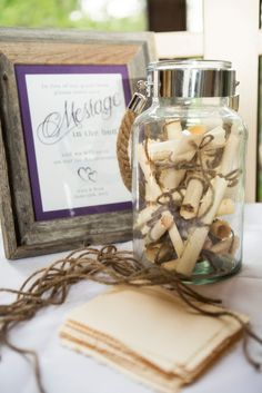 Message-in-a-Bottle Nautical Guest Book   Je T'aime Photography