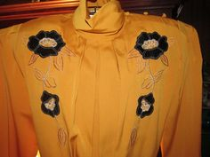 Vintage/ 60's/ 70's/ Lady's/ EMBROIDERED/ by eternalVoyagersVault, $43.00