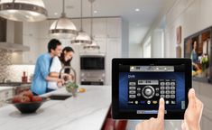 Home Automation Companies That Are Changing Our Homes Home Automation System, Home Technology, Laundry Rooms, Control Panel, Connect, Kitchens, Buttons, Electronics, Modern