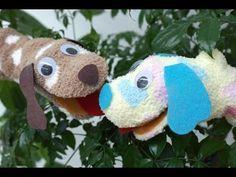 How to Make SOCK Puppets 1 - Style 1 - ( Easy & Simple ) Çorap Kukla Yapımı ( Kolay & Basit ) - YouTube