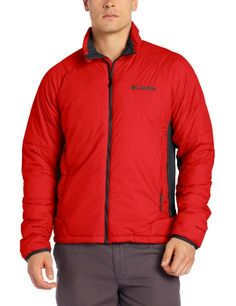 Columbia Men's Premier Packer Hybrid Jacket, Bright Red, Medium Columbia ++You can get best price to buy this with big discount just for you.++