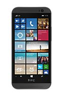The HTC One® (M8) for Windows® combines a stunning design with the unique Windows Phone® 8.1 and innovative HTC features. Enjoy the sleek look of a full-metal unibody. Get help managing your life with Cortana, a virtual personal assistant.
