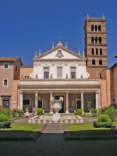Santa Cecilia, Rome Buildings, Urban Planning, Pasti, Mansions, Architecture, House Styles, Places, Italy Italy