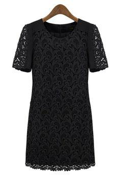 Graceful Paisley Lace Dress