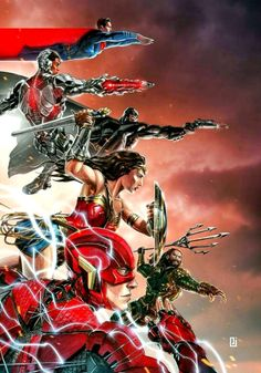 Justice League Action Shot - Peejay Catacutan