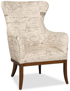 Shop for Hooker Furniture Document Fossil Accent Chair, and other Living Room Chairs at Hickory Furniture Mart in Hickory, NC. This opulent chair is finished in our felton finish and features Document Fossil fabric.