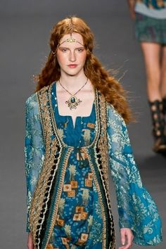 Anna Sui - New York Fashion Week - Spring 2014