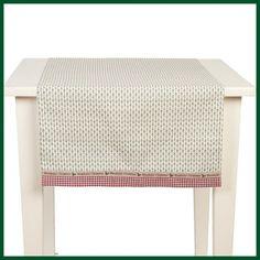tischl ufer ilex natur wei l ufer weihnachten wohntextilien tischdecken und l ufer. Black Bedroom Furniture Sets. Home Design Ideas