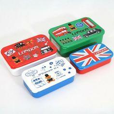 London Sherlock Holmes Bento Box 4 pcs Lunch Box - food containers and storage - Kawaii Shop Modes4u.com