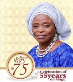 K1 Gbenga Adeyinka De 1st to perform at veteran actress Mama Rays 75th birthday/55 years on stage celebration