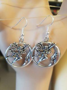 #fairyEarrings #moonmanEarrings #MoonFace #handmadeearrings #fairyJewelry #fantasyJewelry #fairyCharmEarrings #hoopEarrings moon face silver hoops dangles fantasy charm jewelry moon earrings fairy earrings