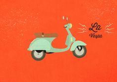 La #Vespa, un vero e proprio simbolo di italianità nel mondo!