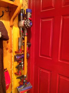 Dyson Storage & how to store dyson attachments - Google Search | Cleaning Tips ...